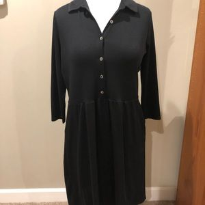 J. Jill Tops - J. Jill Tunic Dress Black Knit XSP NWT $89